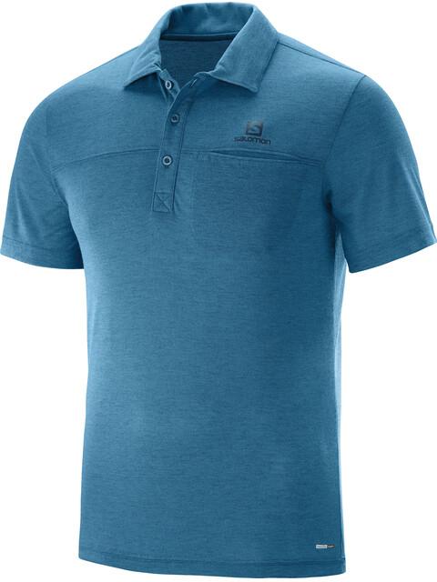 Salomon Explore Miehet Lyhythihainen paita , sininen
